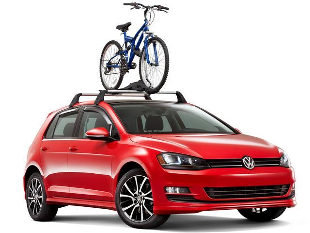 Diagram Base Racks and Bike Holder Attachment - 4dr (NPN071041) for your Volkswagen GTI